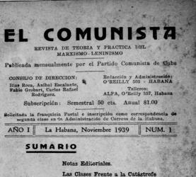 El Comunista (1939-1941)