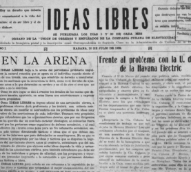 Ideas Libres  (1929)