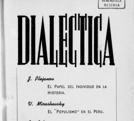 Dialéctica