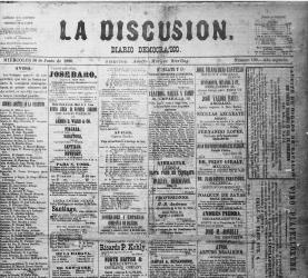 La Discusión  (1893-95, 1903-05, 1880-82, 1889-92)