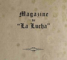 Magazine de La Lucha  (1924, 1926)